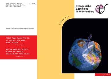 Juni 2010 - Evangelische Sammlung in Württemberg