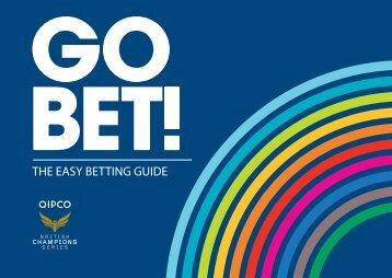 THE EASY BETTING GUIDE - QIPCO British Champions Series