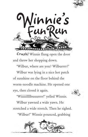 WINNIE ON PATROL Insides - Winnie The Witch