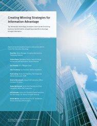 Creating Winning Strategies for Information Advantage - EMC