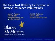 Download PDF - Blaney McMurtry LLP