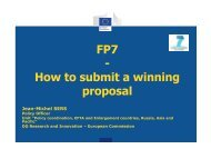 FP7 - How to submit a winning proposal - Europa