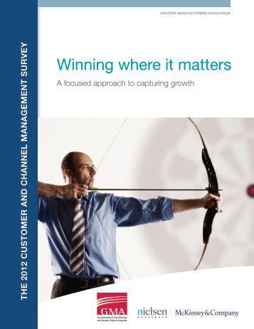 Winning where it matters - McKinsey & Company