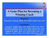 A Game Plan for Becoming a Winning Coach
