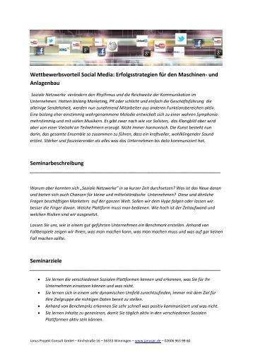 pdf-Unterlagen zur Fax-Anmeldung finden Sie [hier - Janus Projekt ...