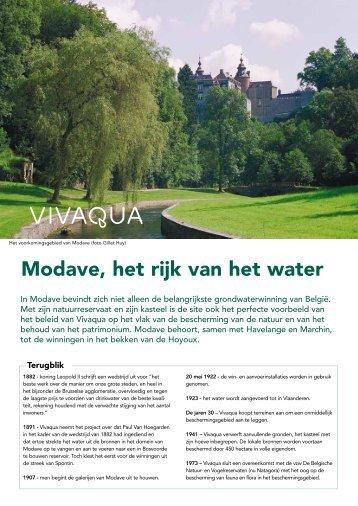 Modave, het rijk van het water - Vivaqua