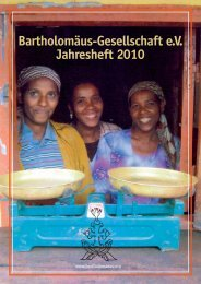 Jahresheft 2010.pdf - Bartholomäus-Gesellschaft eV