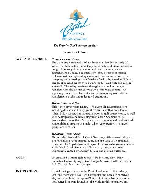 crystal-springs -media-kit-resort-fact-Sheet - Hunter Public Relations