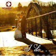 Wedding & Event Brochure. - Tetherow