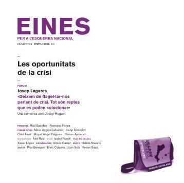 09. Les oportunitats de la crisi - Fundació Josep Irla