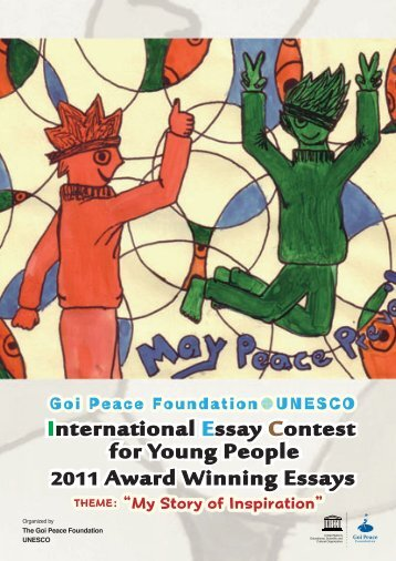 International Essay Contest for Young People 2011 Award Winning ...