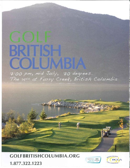 """Page 1 Page 2 Big Sky Golf and Country Club,"""" Pembertom British ..."""