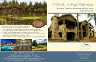 View Home Brochure - Pine Canyon Club
