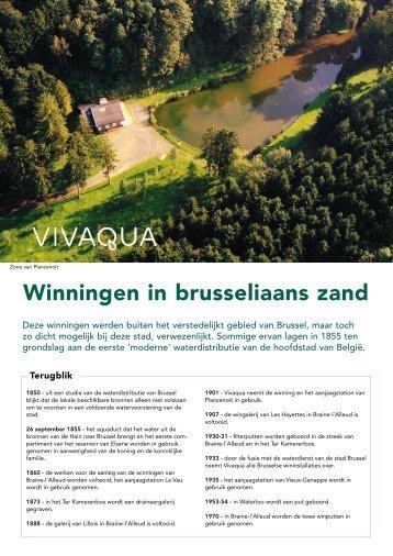 Winningen in brusseliaans zand - Vivaqua