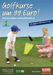Golfkurse um 99 Euro!
