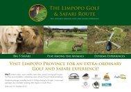 The Limpopo Golf & Safari Route