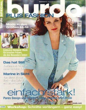 Burda Special Plus Fashion F/S 2006 - Evelin Brandt