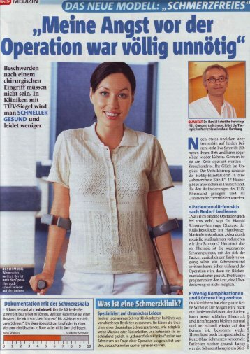 folgender Artikel - Ev. Elisabeth Krankenhaus Trier gGmbH