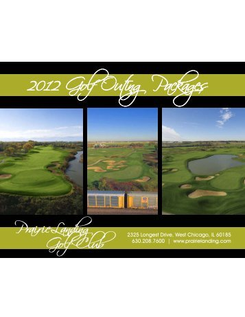2012 Golf Outing Packages - Golf Fusion