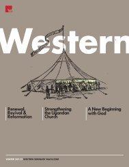 Strengthening the Ugandan Church Renewal, Revival - Western ...