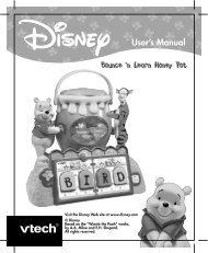 Winnie The Pooh Bounce-n-Learn Honeypot - VTech