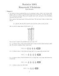 statistics 100a homework 1 solutions