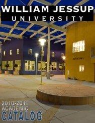 School of Professional Studies - William Jessup University