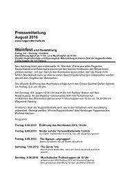Pressemitteilung August 2010 - Neu-Isenburg