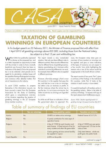 Gambling winnings taxable in california