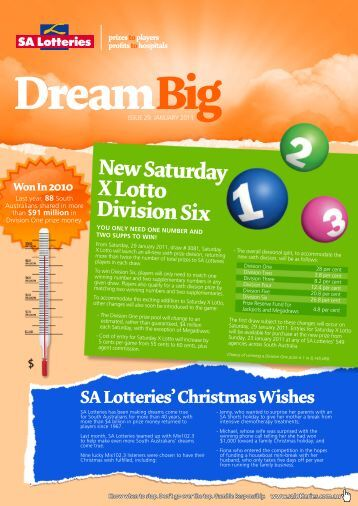 DreamBig - SA Lotteries