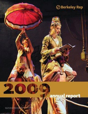 annual report - Berkeley Repertory Theatre