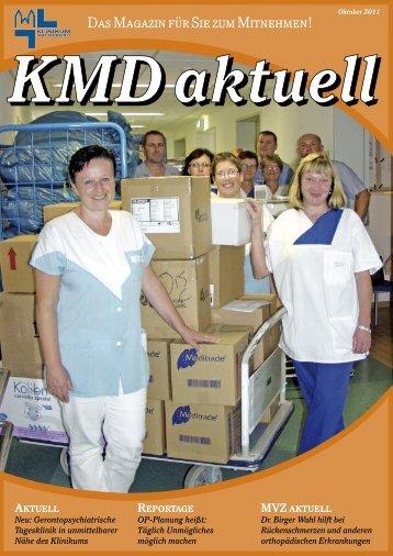 Ausgabe Oktober 2011 - Städtisches Klinikum Magdeburg