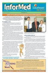 Spirit of Southeast Management Award Recipients
