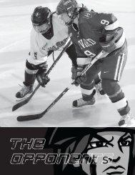 the opponents - Colgate University Athletics