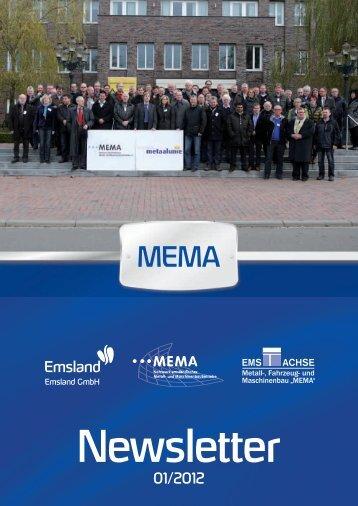 MEMA-Newsletter 1/2012 - Landkreis Emsland