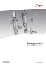 Capacity regulators, type CPCE and LG - Winnovation