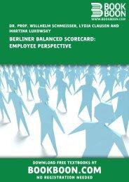 Berliner Balanced Scorecard: Employee Perspective