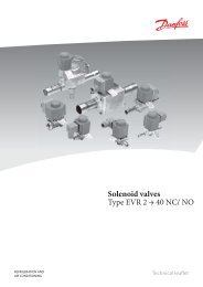 Solenoid valves Type EVR 2 → 40 NC/ NO - Winnovation