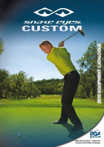2010 E Q U IP M E N T C A TA LO G U E - Golfsmith Europe