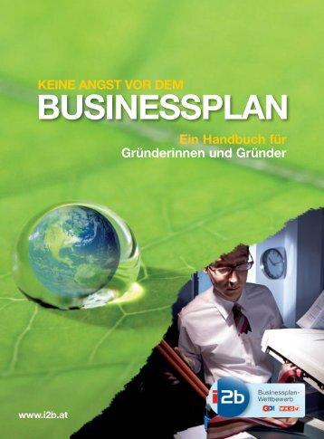 keine angst vor dem businessplan - GO! Gründercenter