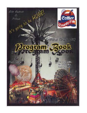 2012 Collier County Fair Program Book