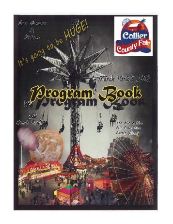 2012 Collier County Fair Program Book