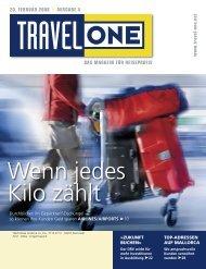 DAS MAGAZIN FÜR REISEPROFIS 20. FEBRUAR ... - Travel-One