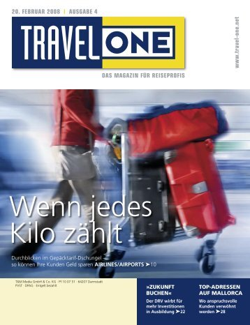 DAS MAGAZIN FÜR REISEPROFIS 20. FEBRUAR ... - Travel-One