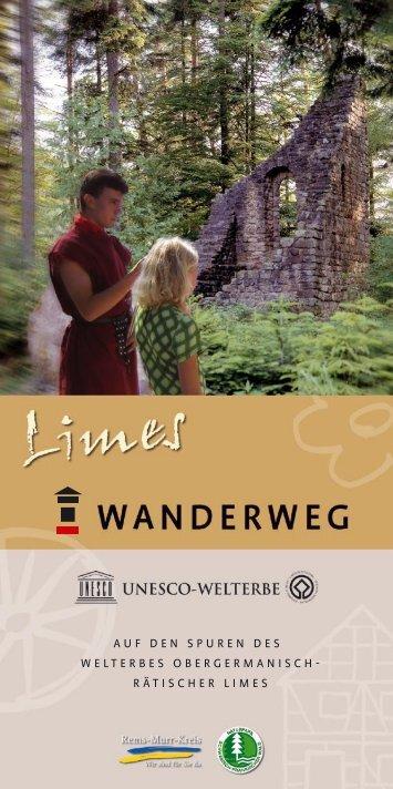 Limeswanderweg - Naturpark Schwäbisch Fränkischer Wald