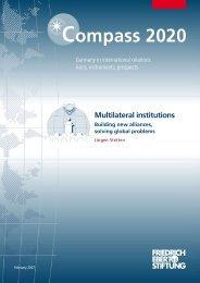 Multilateral institutions - Bibliothek der Friedrich-Ebert-Stiftung