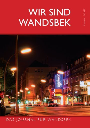 wir sind wandsbek - CittyMedia Communicators and Publishers GmbH