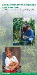 Landwirtschaft und Weinbau zum Anfassen - Region Trier
