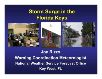 Storm Surge in the Florida Keys