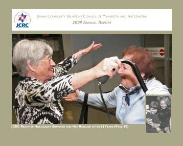 2009 AnnuAl RepoRt - Jewish Community Relations Council ...
